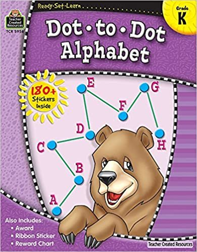 Teacher Created Resources Dot to Dot Alphabet Grade K