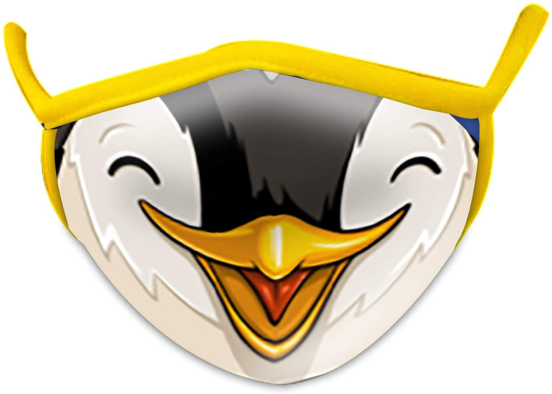Wild Smiles 2 Ply Cotton Face Mask Penguin: Child