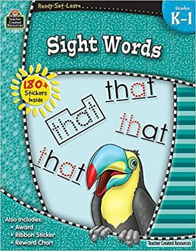 Teacher Created Resources Sight Words Grades K - 1