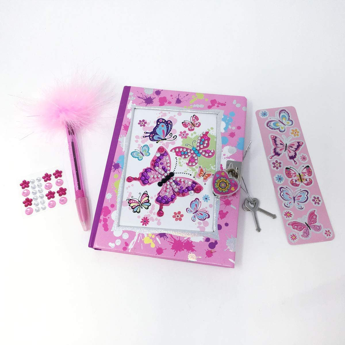 Hot Focus Butterfly Diary Set