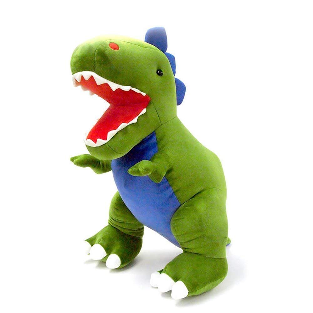 GUND Jumbo Chomper Dinosaur T-Rex Stuffed Animal Plush, Green, 25""