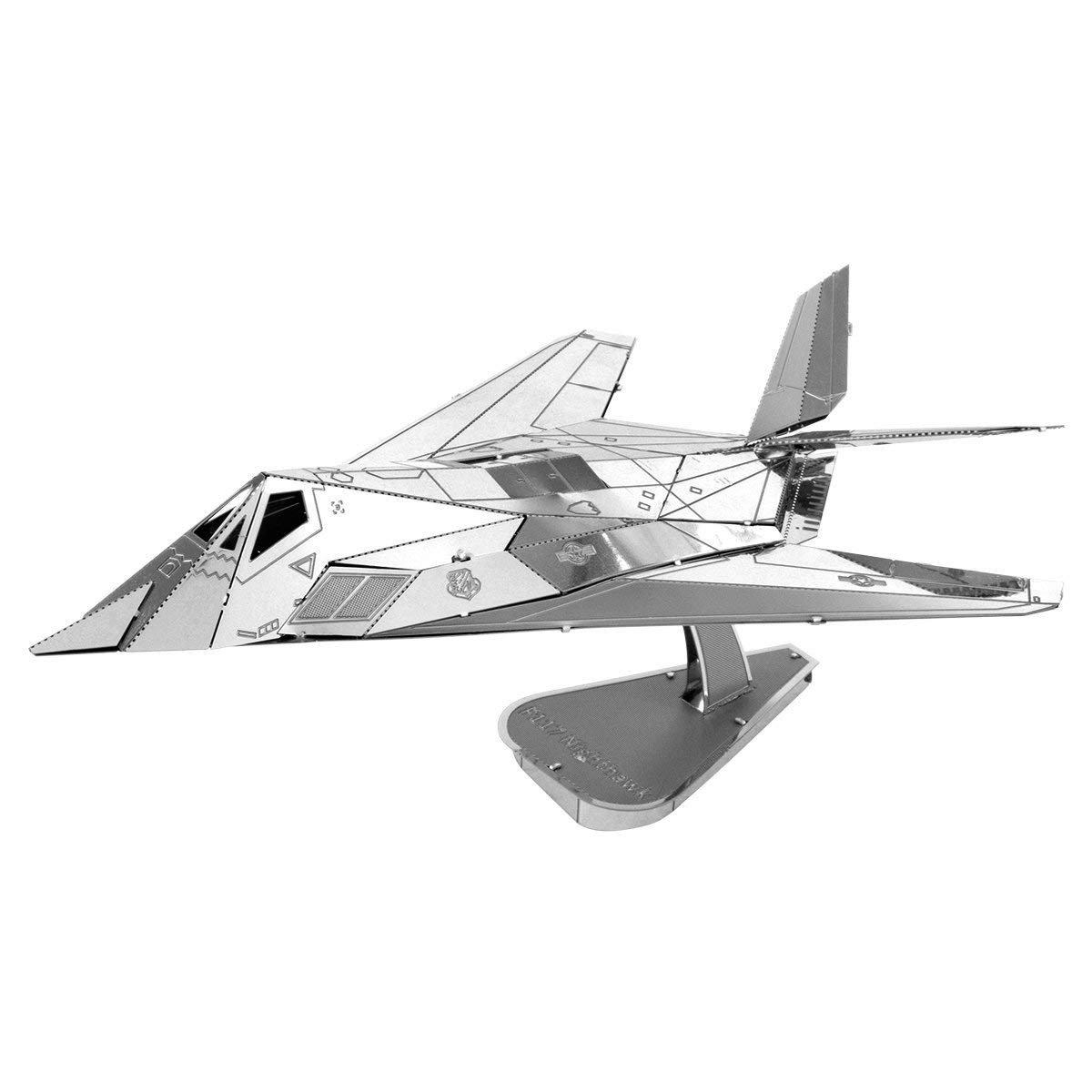 Metal Earth Lockheed Martin F-117 Nighthawk 3D Steel Model kit