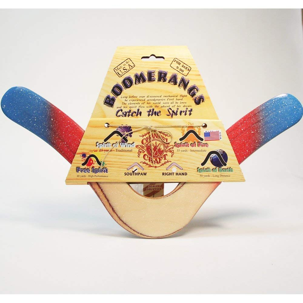 Channel Craft Boomerang Spirit of Fire Graffiti - Right Handed