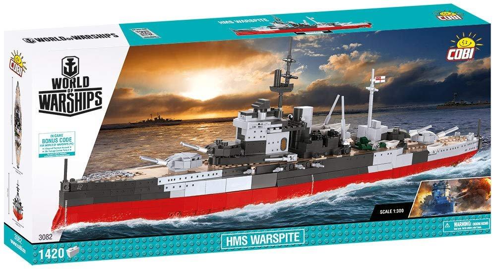 Cobi World of Warships HMS Warspite Building Set