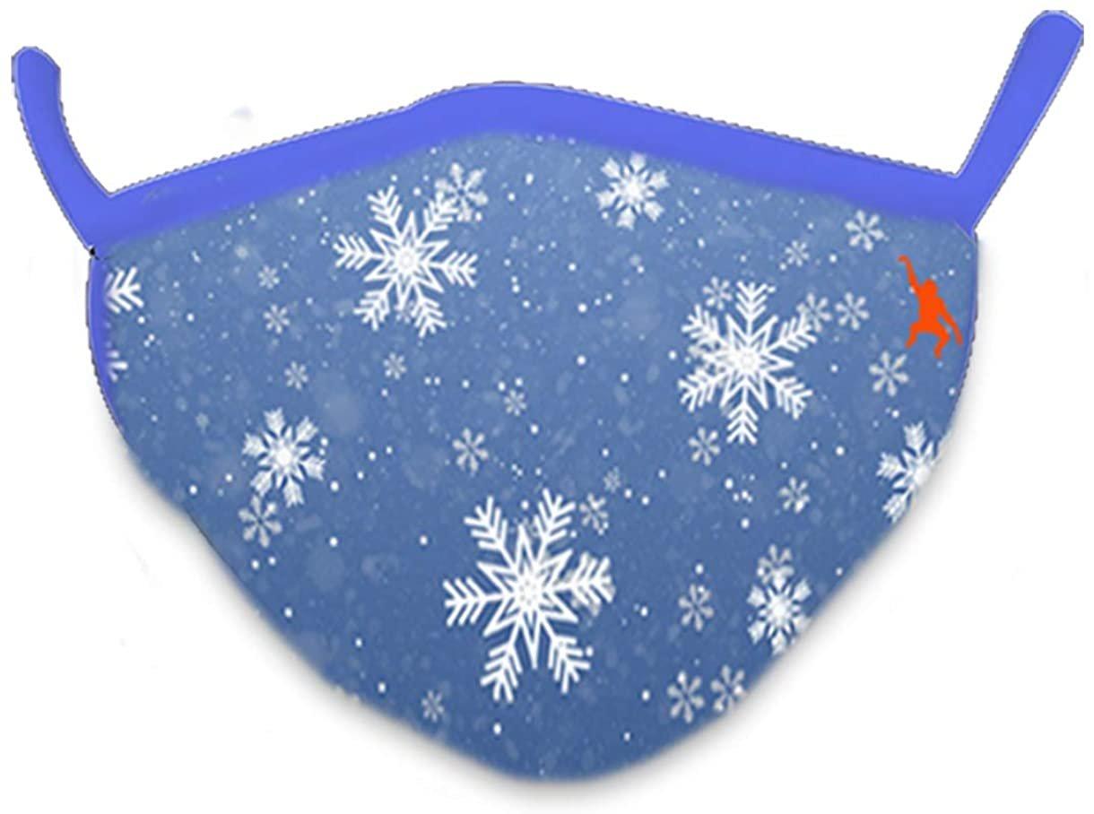 Wild Smiles 2 Ply Cotton Face Mask Snowflake