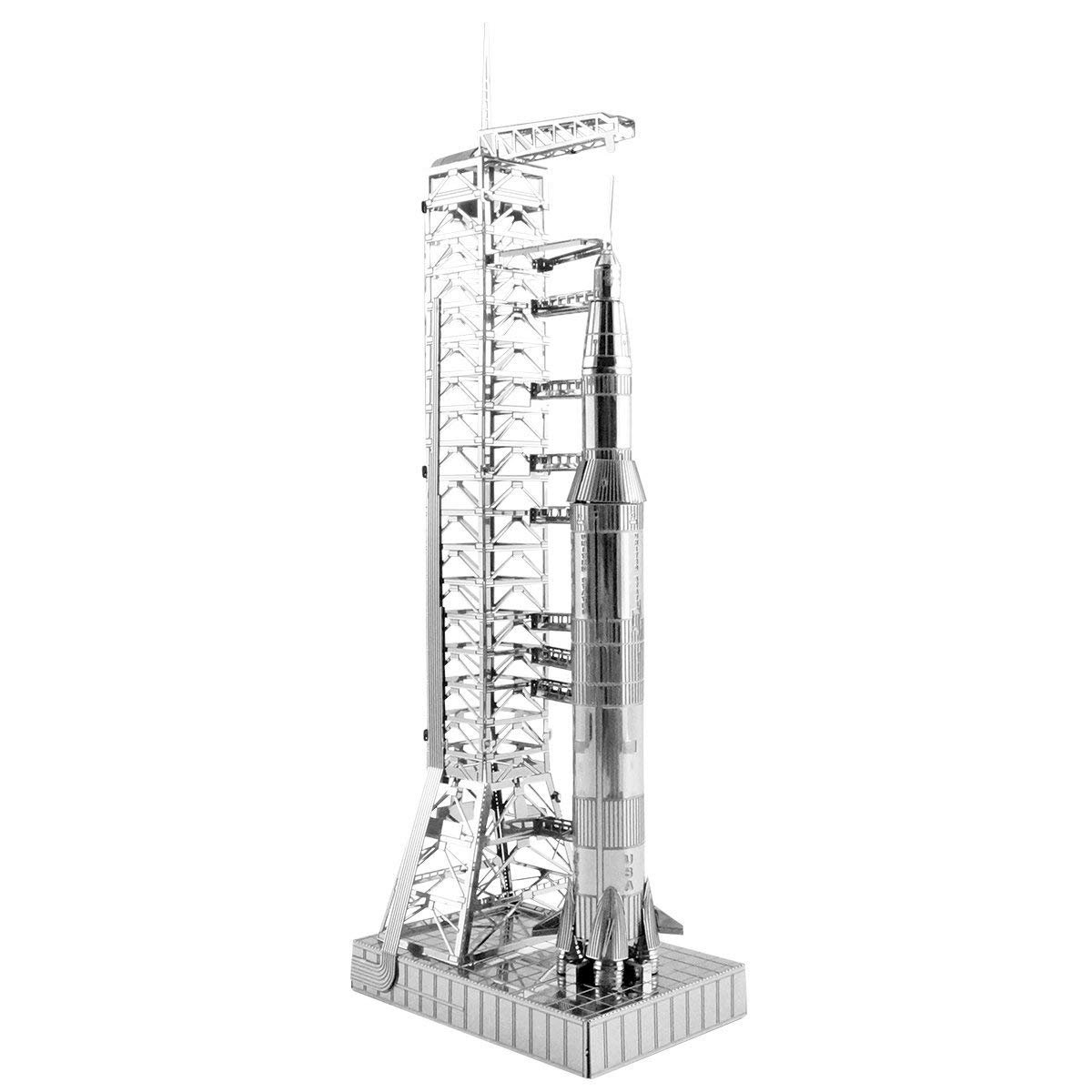 Metal Earth 50th Anniversary Apollo Saturn V 3D Steel Model Kit