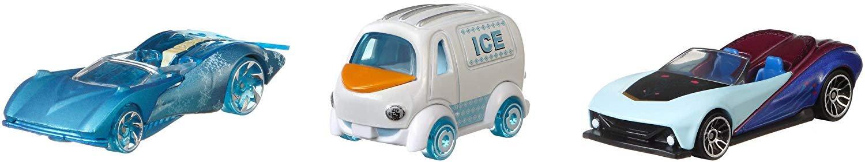 Hot Wheels Frozen Character Car 3 Pack
