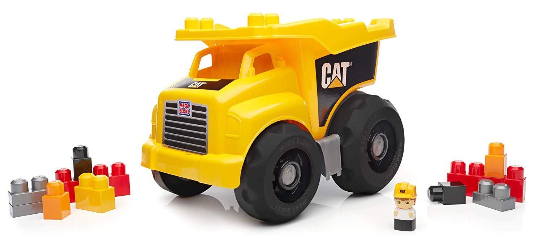 Mega Blocks Cat Dump Truck Large
