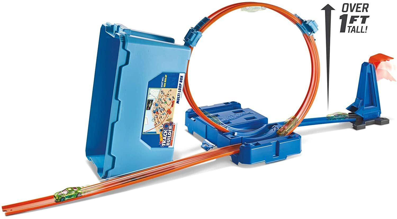 Hot Wheels Track Builder Mulit Loop Box