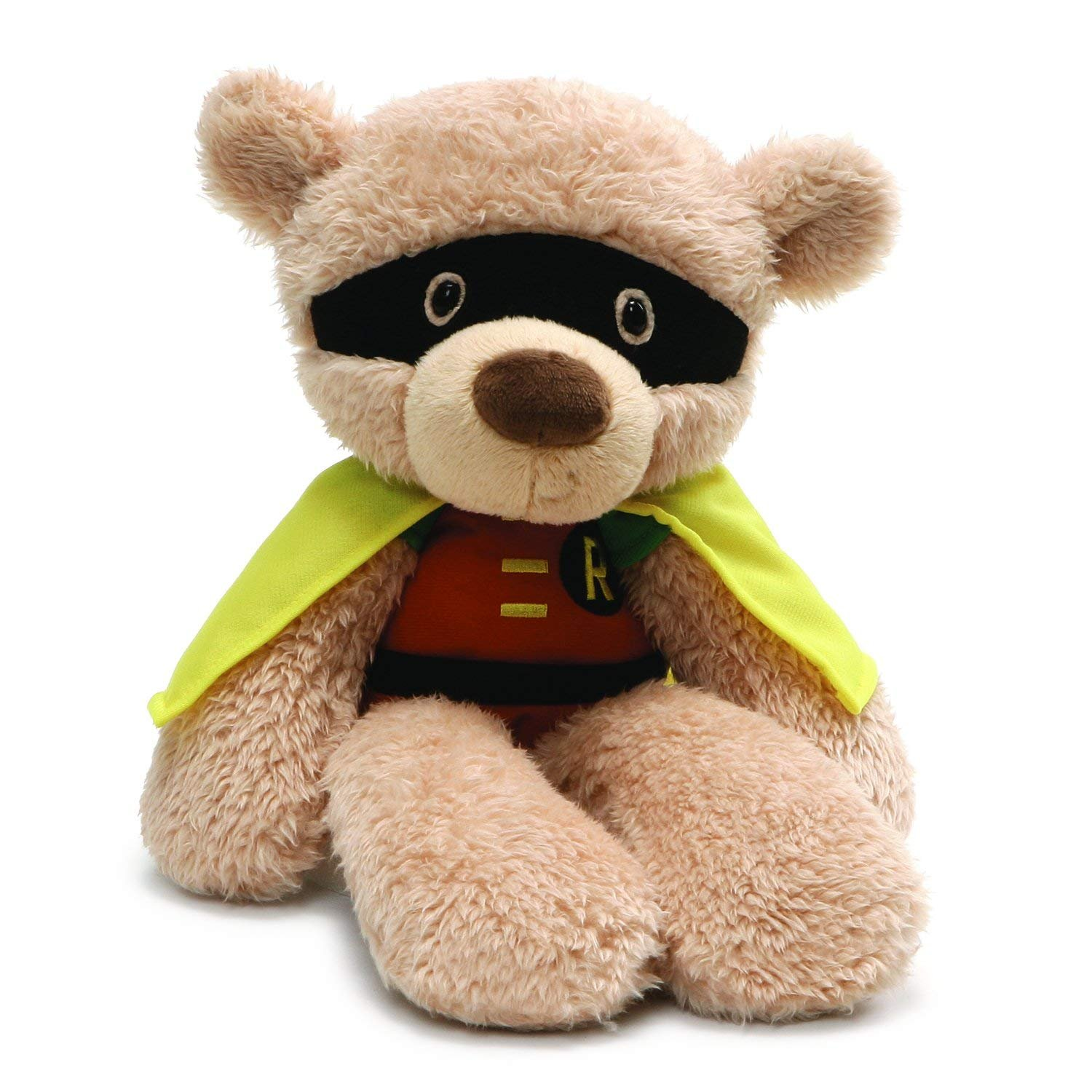 DC Comics Fuzzy 14 Robin Plush by Gund  -