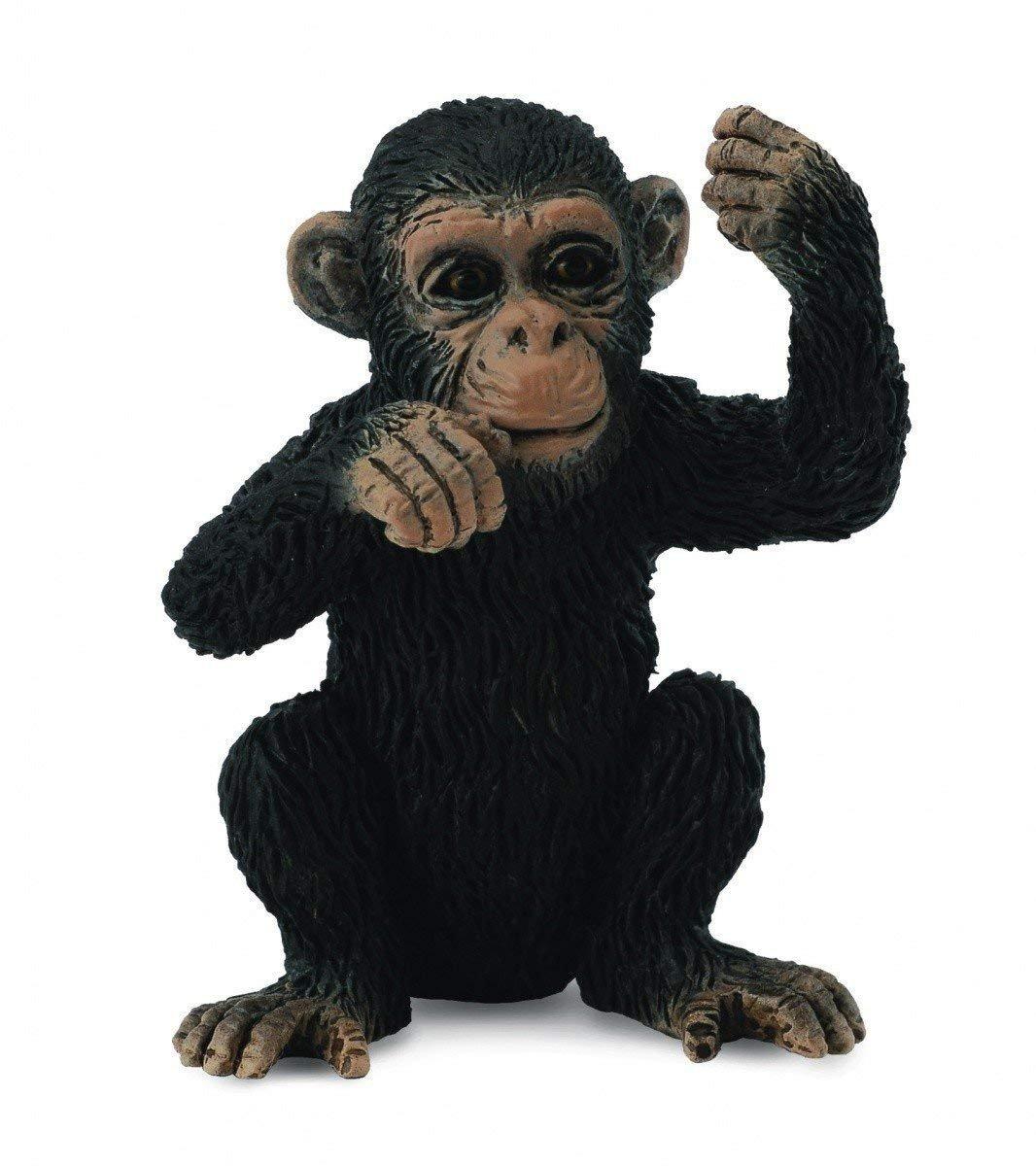 Collecta Thinking Chimpanzee Baby Toy Figurine