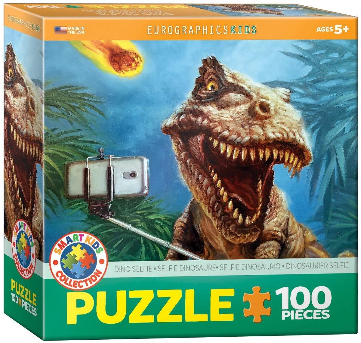 Eurographics 100 Piece Dinosaur Puzzle