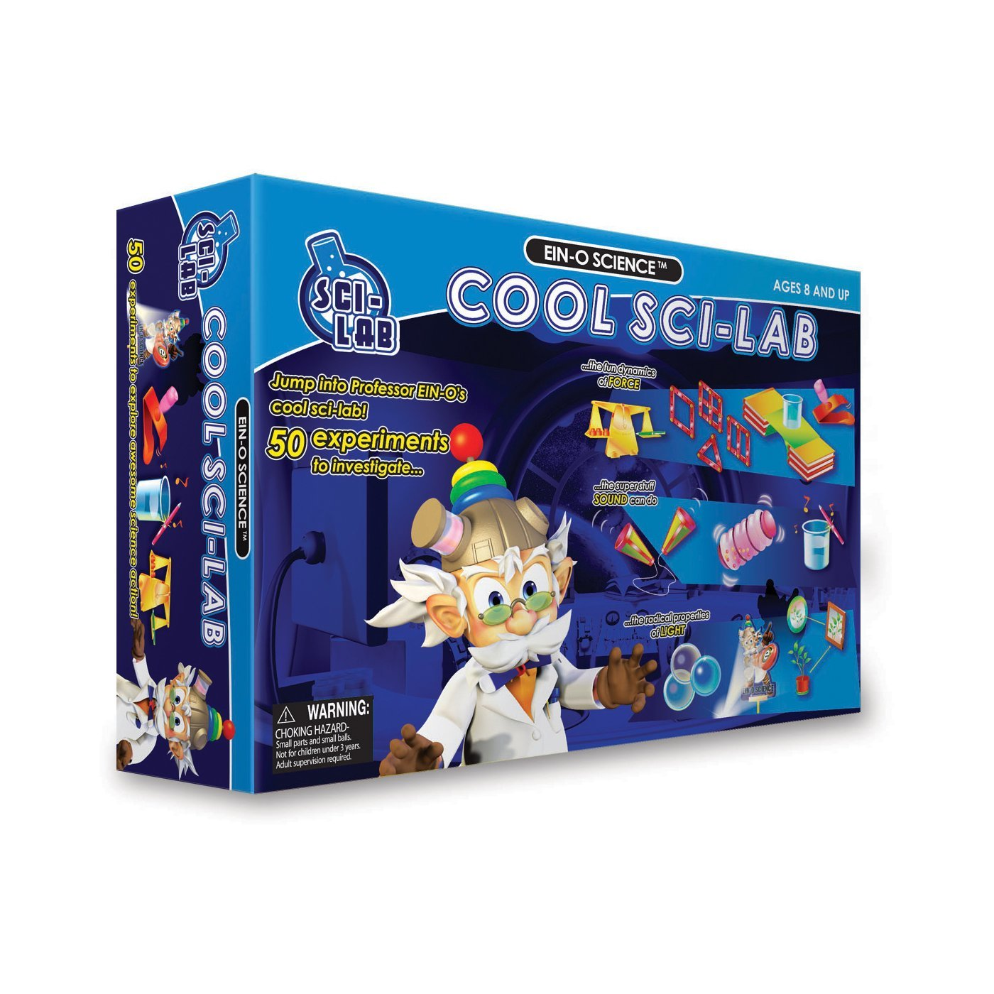 Ein-O Science Sci-Lab Cool Science Lab Stem Experiment Kit