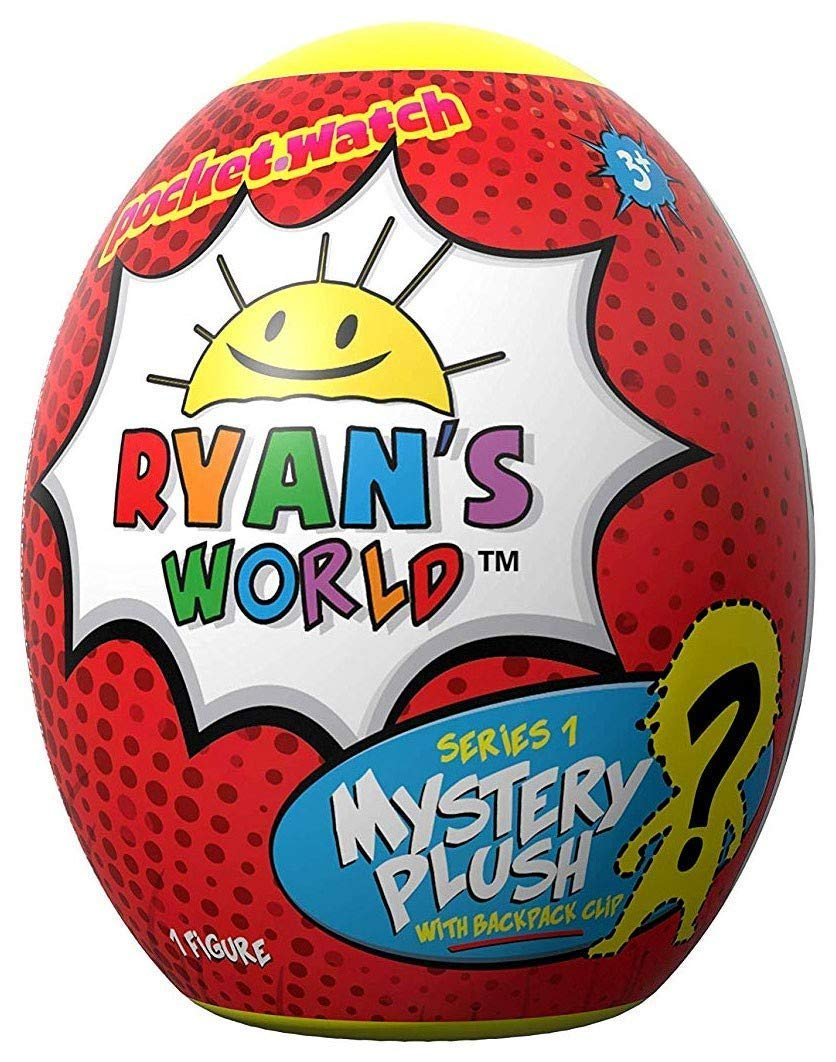 Ryan's World Mystery Egg Plush Clip Series 1
