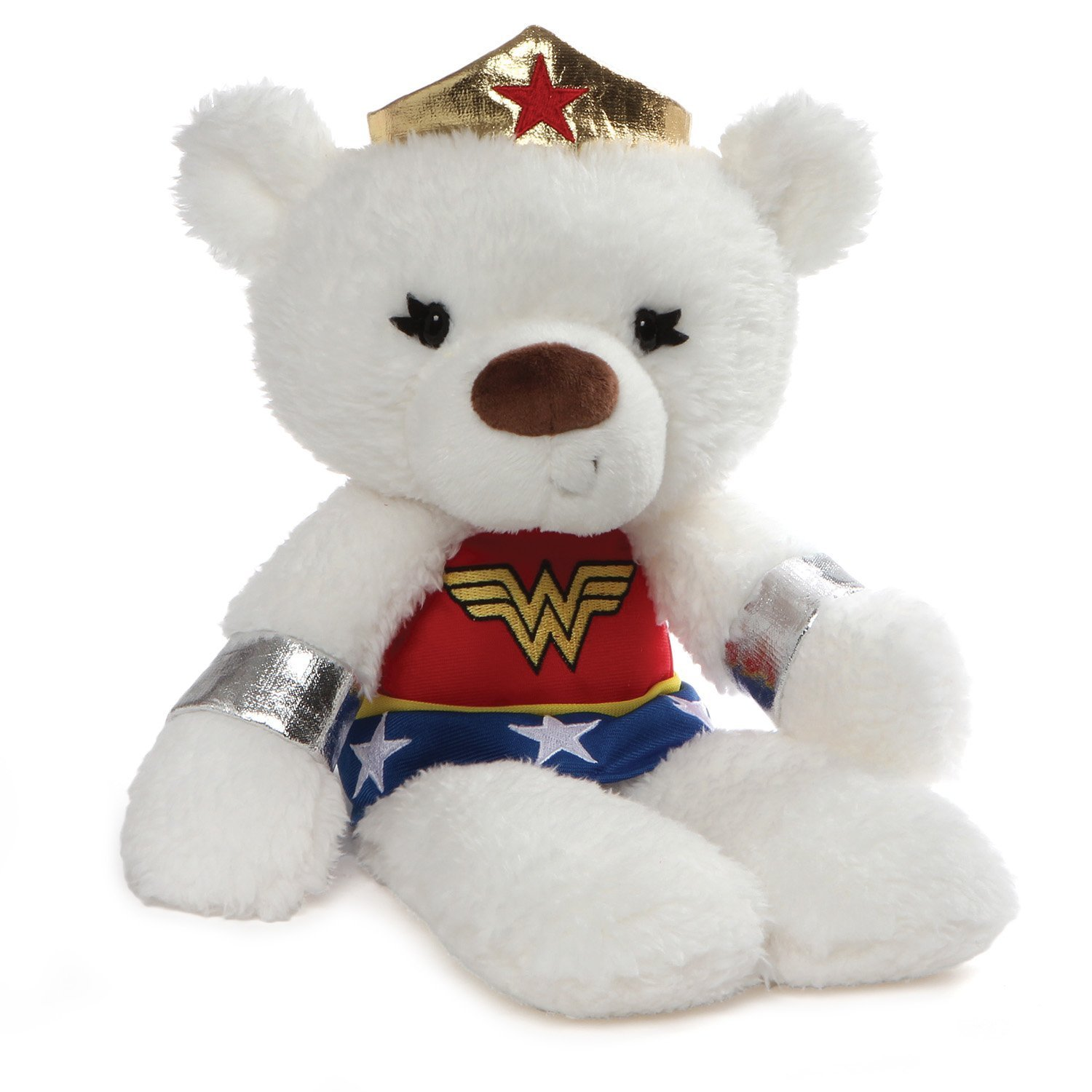 DC Comics Fuzzy 14 Wonder Woman Plush by Gund