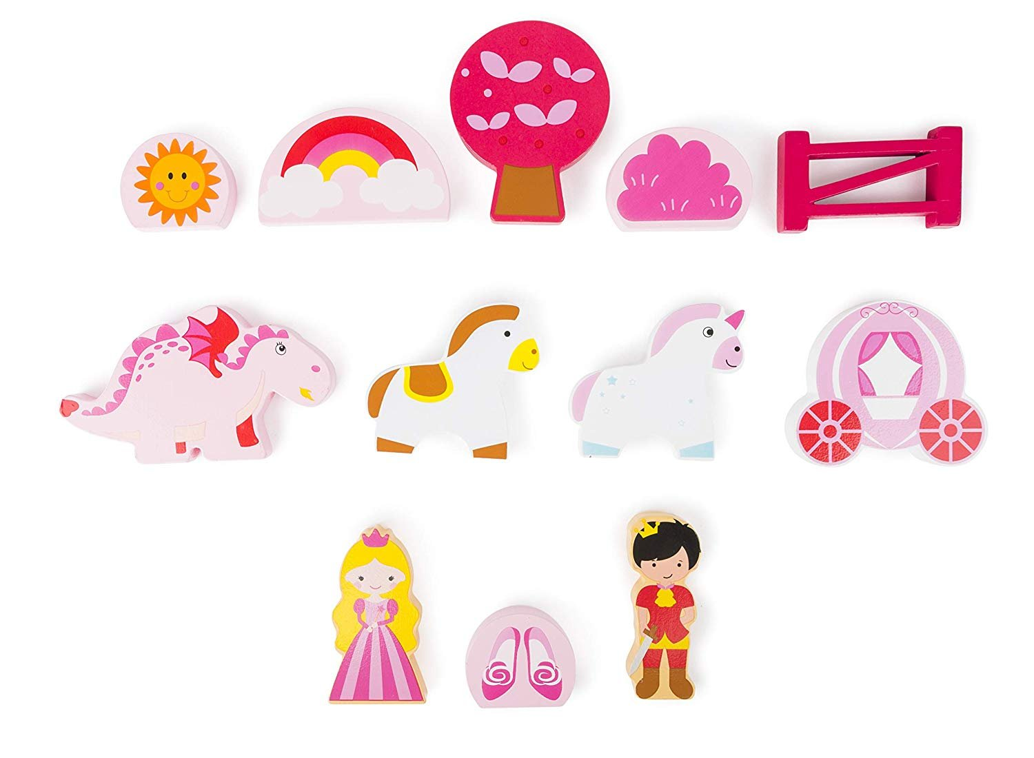 Small Foot Wooden Toys Princess Castle Playset