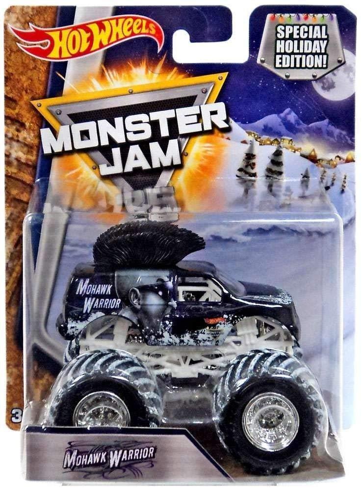 Hot Wheels Monster Jam Snow Themed