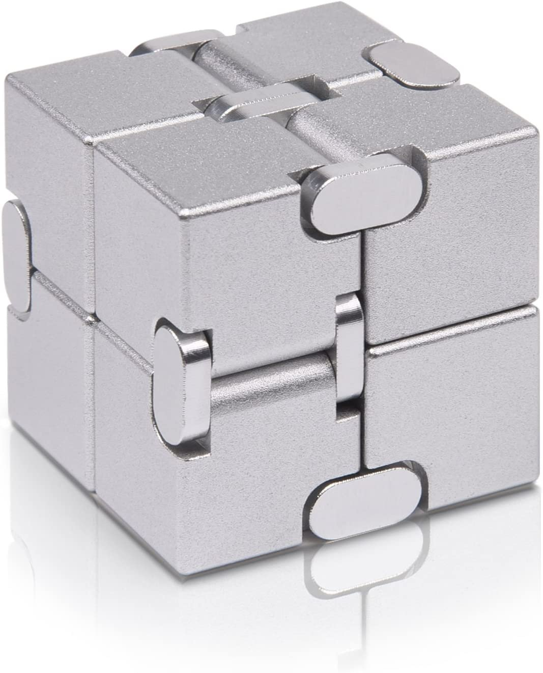 Metal Infinity Cube Assorted Colors