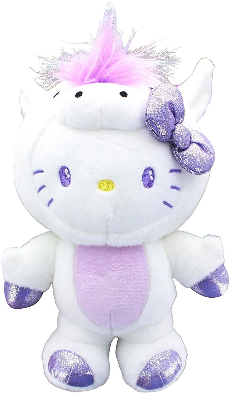 GUND Hello Kitty Unicorn, 9.5 inches