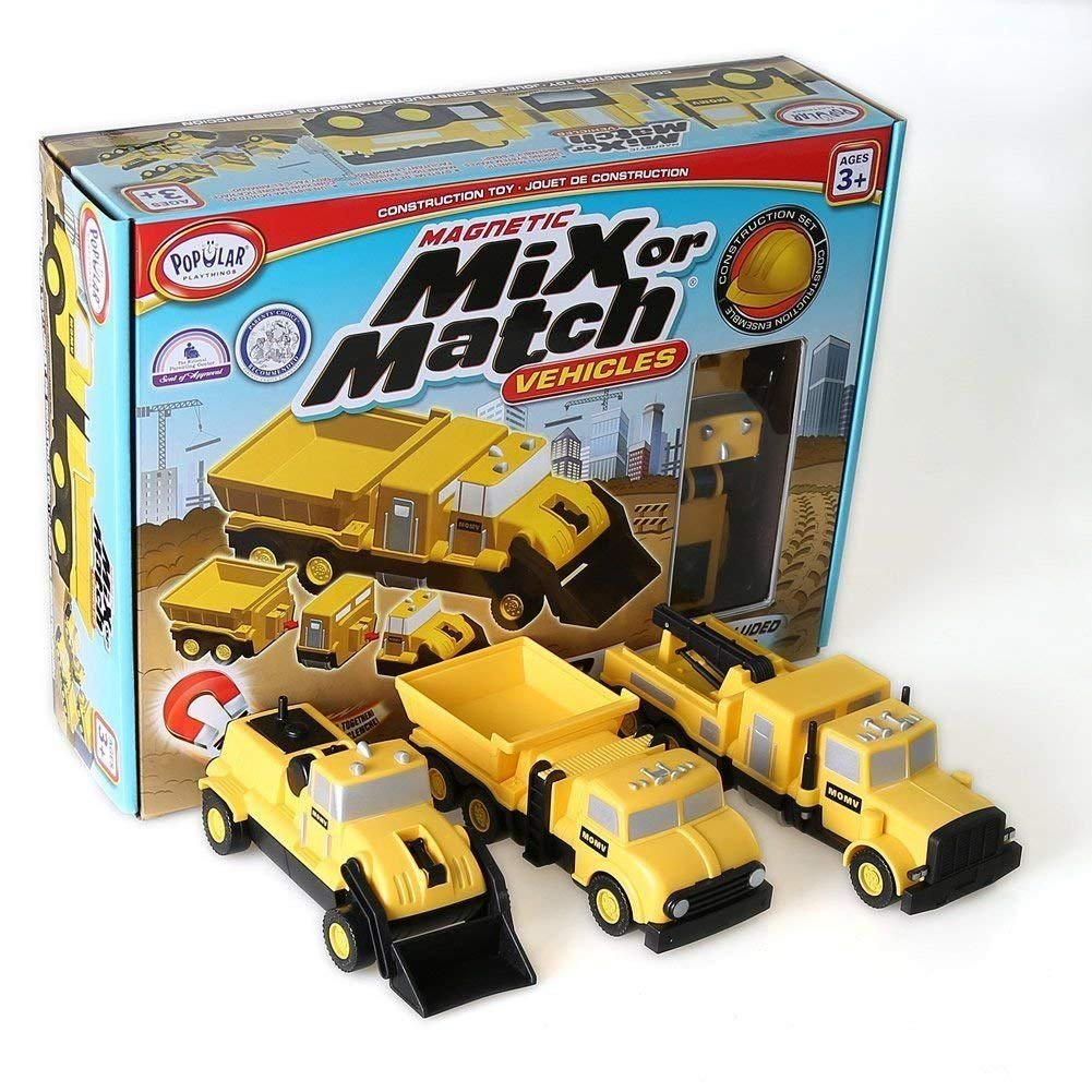 Popular Playthings Mix or Match Vehicles Set