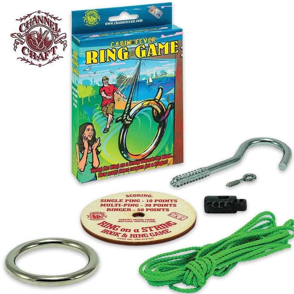 Channel Craft Ring on a String Game