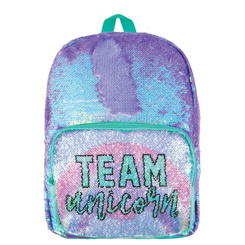 Fashion Angels Magic Sequin Backpack-Periwinkle/Team Unicorn