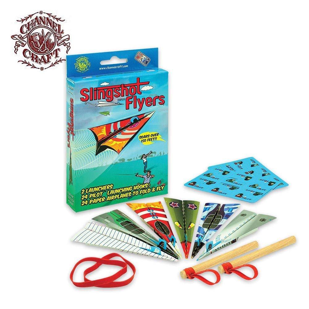 Channel Craft Slingshot Flyers Paper Airplane Kit