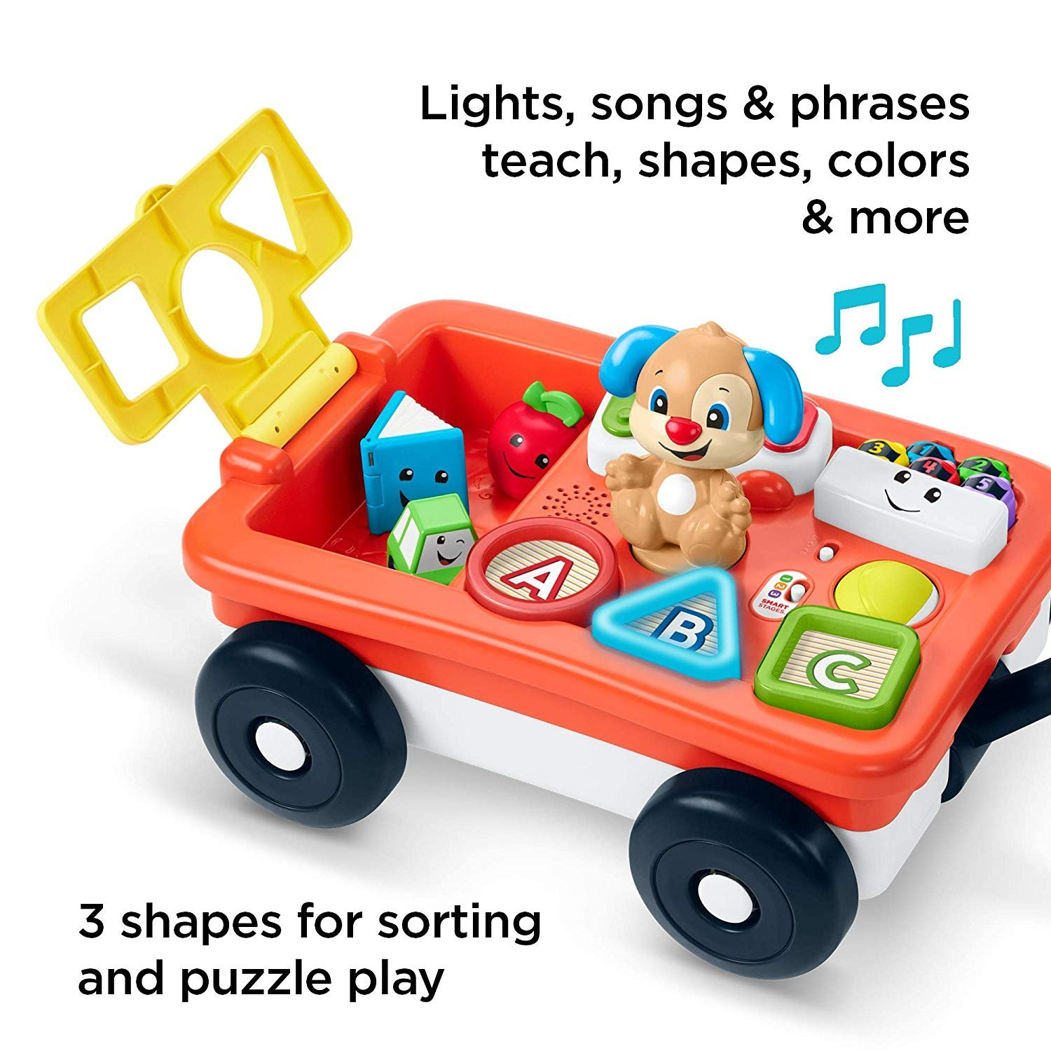 Fisher Price Laugh and Learn Pull and Play Wagon