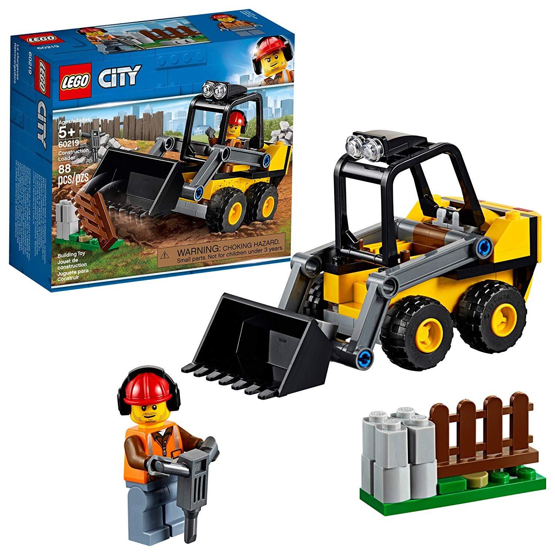 Lego City (60219) Construction Loader 88pc Set