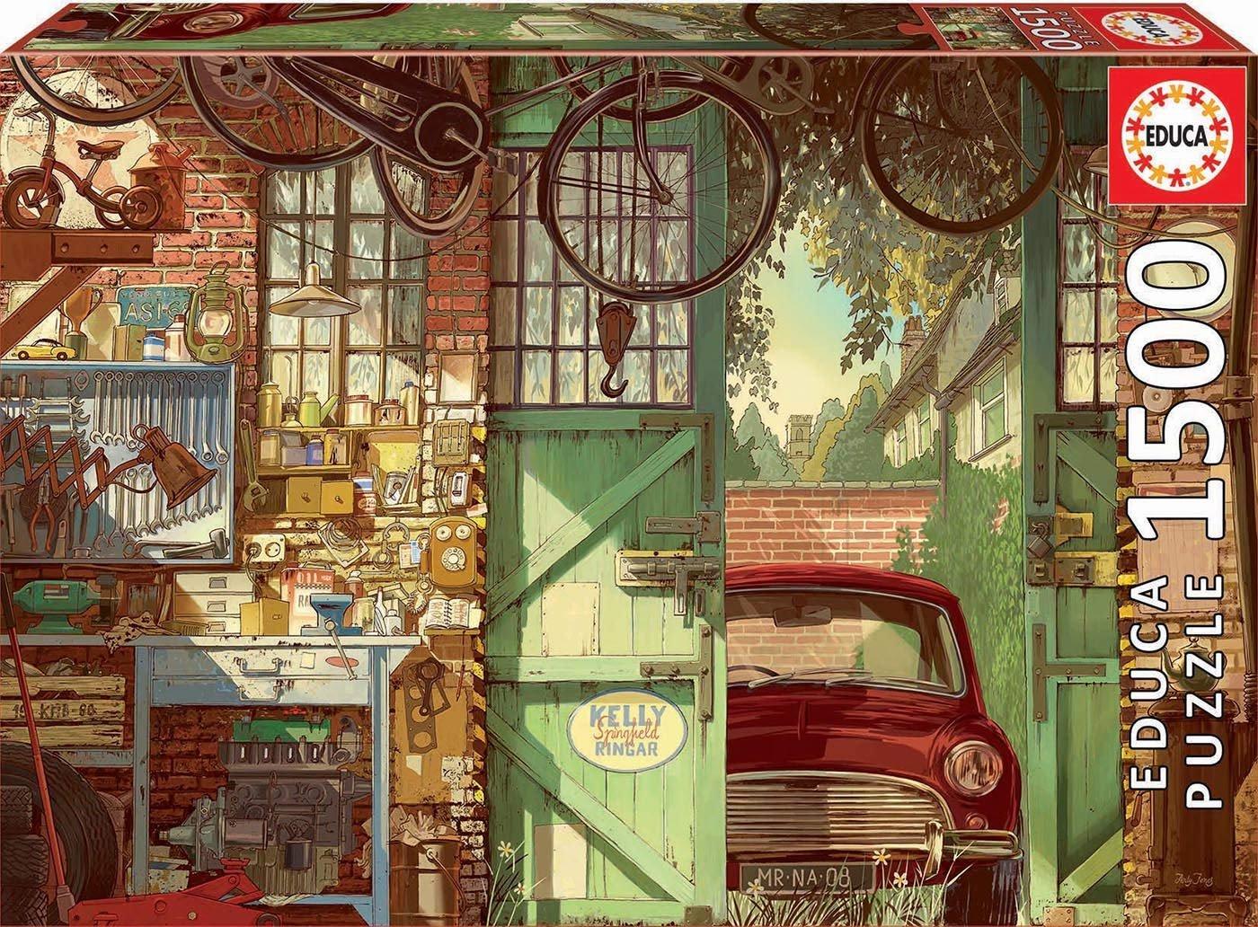 Educa 1500 pc Old Garage Arly Jones Puzzle -