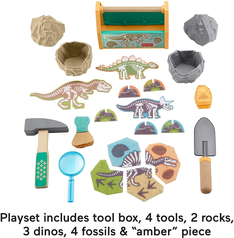 Fisher Price Dinosaur Discovery Set
