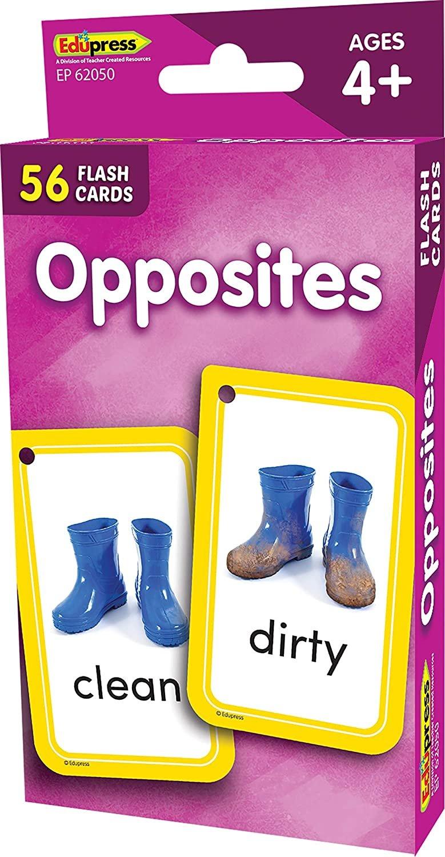 Edupress Flash Cards Opposites