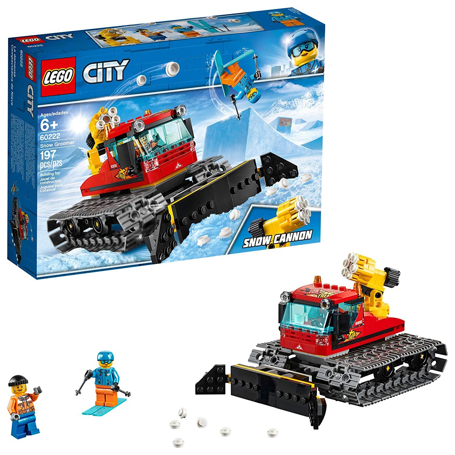 Lego City (60222) Snow Groomer 197pc Set