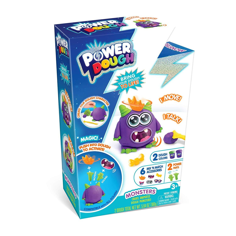 CANAL TOYS Power Dough Interactive Dough (11 Piece)