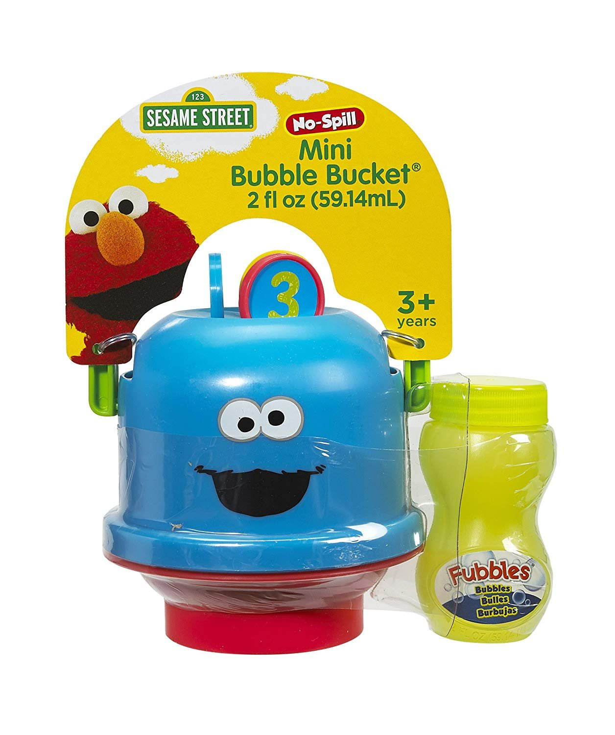 Sesame Street Mini Bubble Bucket