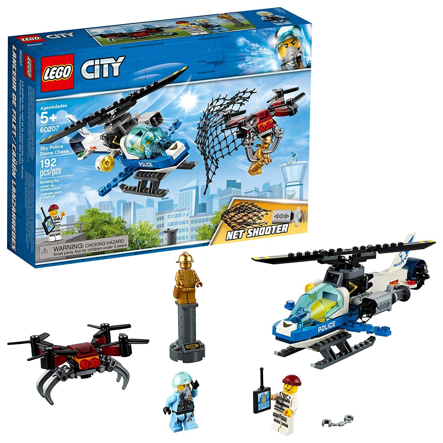 Lego City (60207) Sky Police Drone Chase 192pc Set