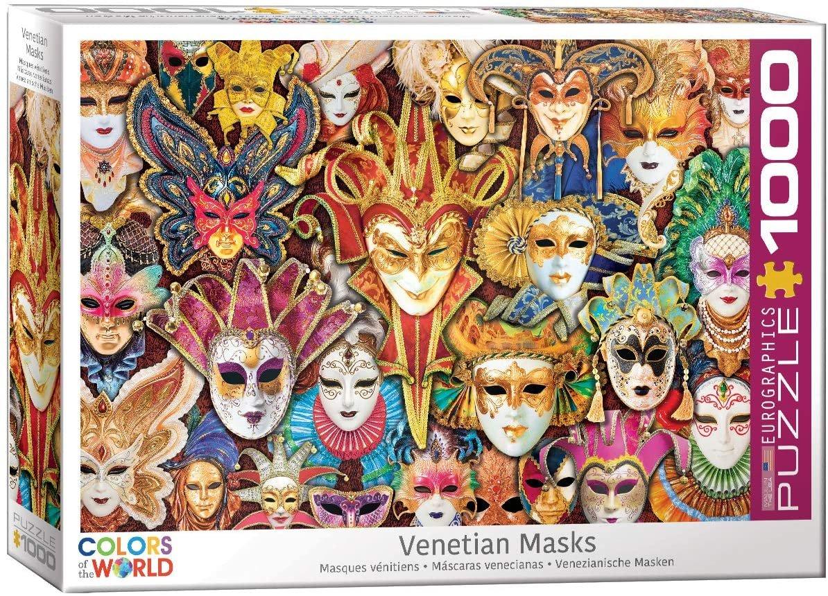 Eurographics 1000 Piece Venetian Masks Puzzle
