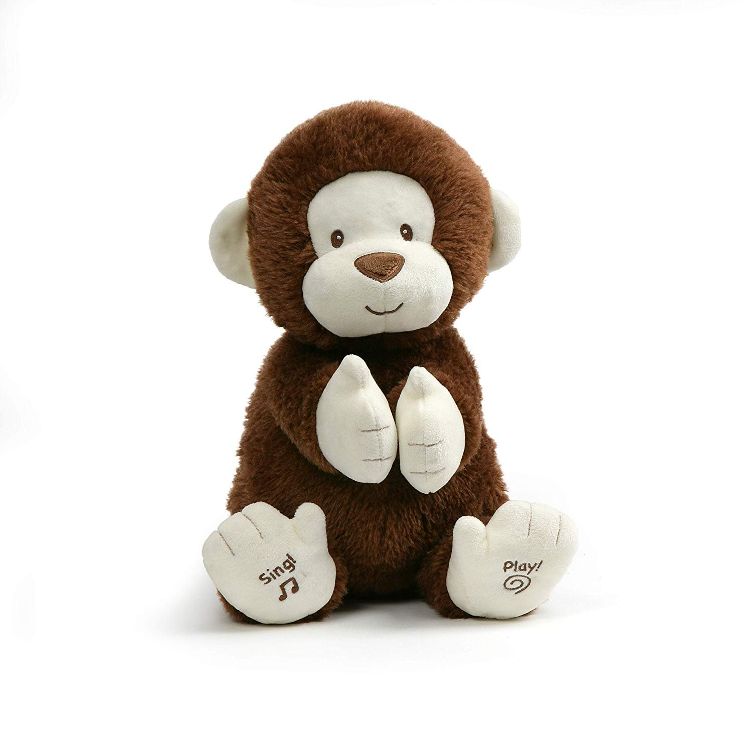 Gund Clappy the Monkey Clap You Hands if your Happy