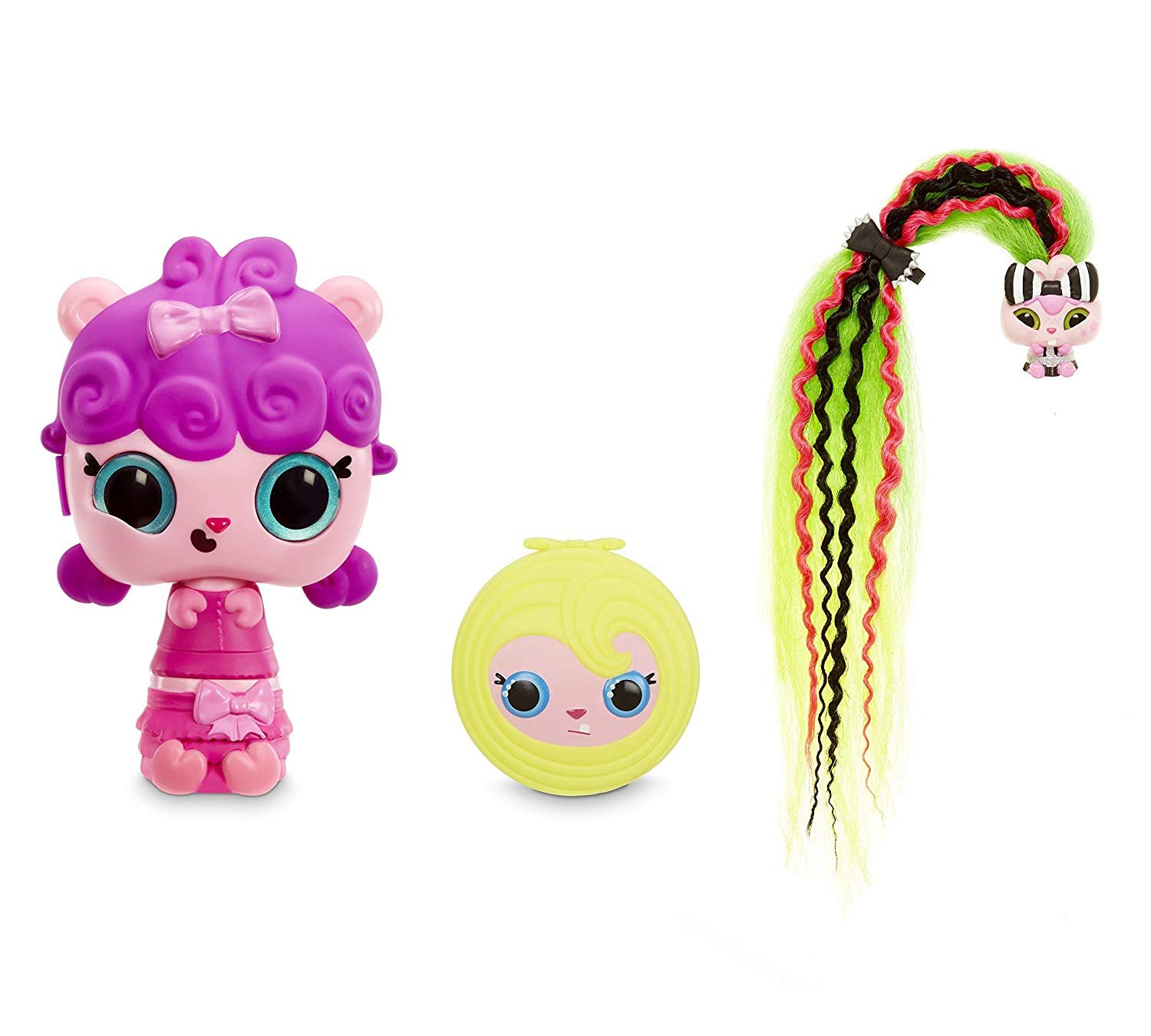 Pop Pop Hair Surprise Wave 1 Pop Pop Hair Surprise 3-In-1 POP Pets with Long, Brushable Hair