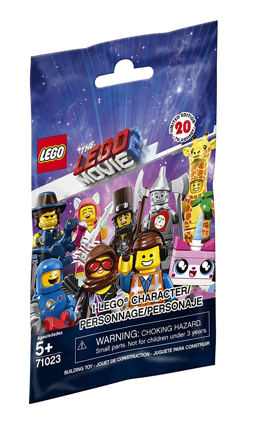 Lego Movie 2 Character Blindpack
