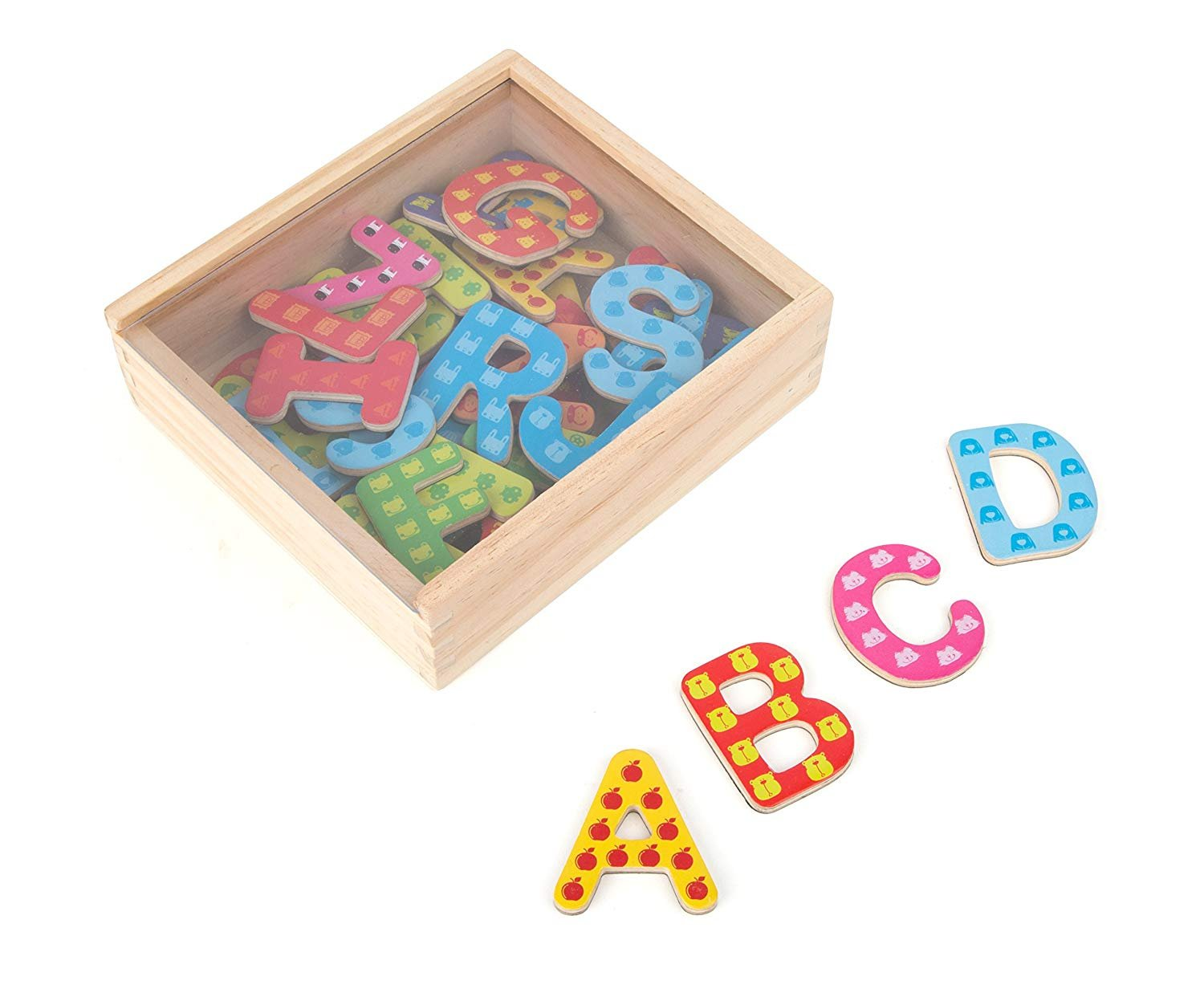 Small Foot Wooden Toys Magnetic Letters