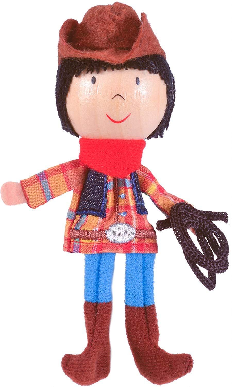 Fiesta Cowboy Finger Puppet