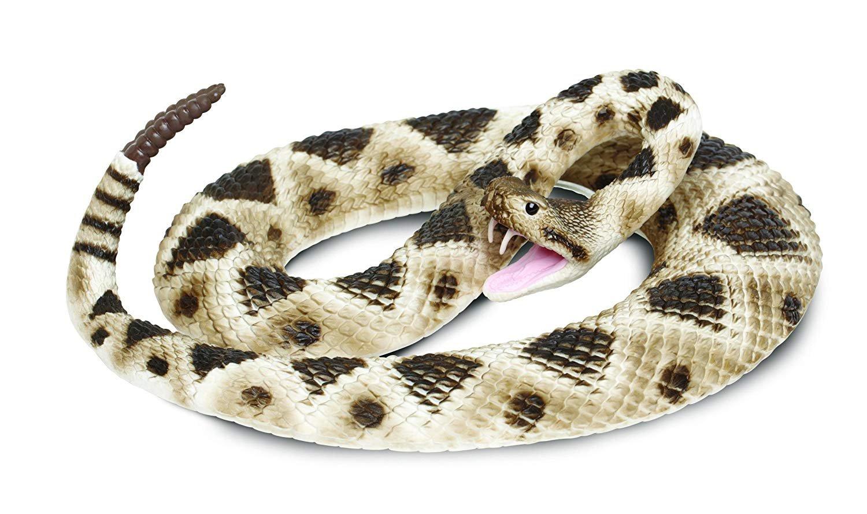 Safari Ltd. Incredible Creatures Eastern Diamondback Rattlesnake