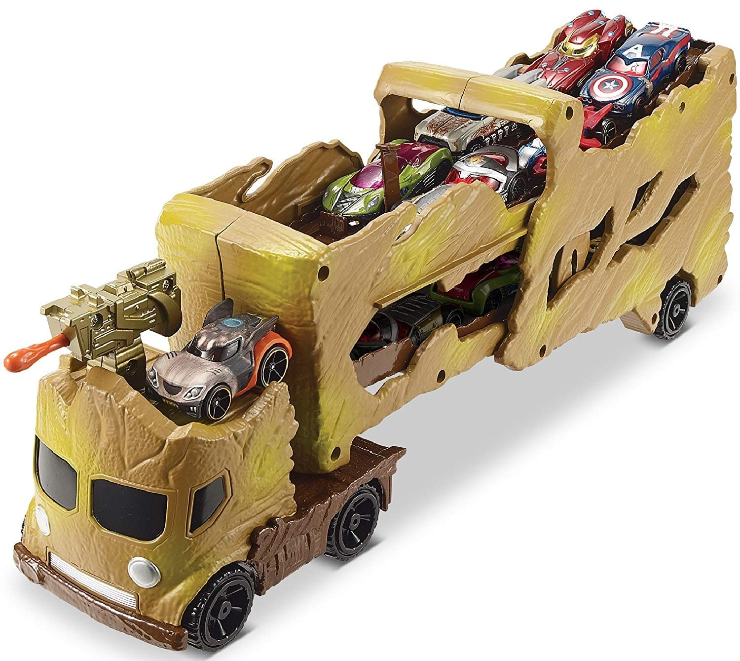Hot Wheels Guardians of the Galaxy Groot Hauler