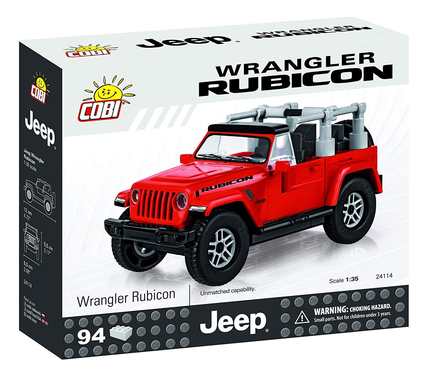 Cobi Wrangler Rubicon Building Set