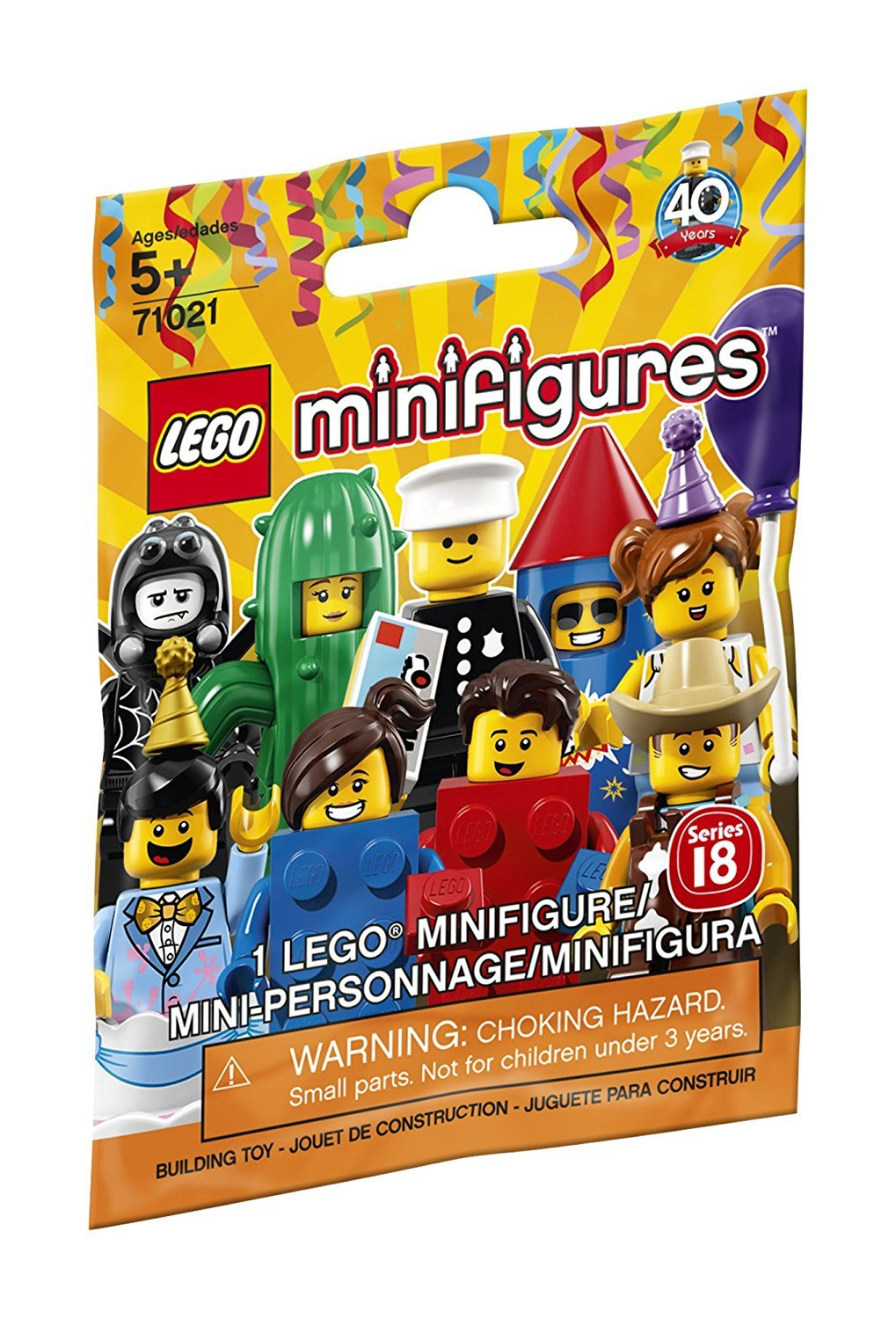 Lego Figures (71021) Blindpack  Series 18