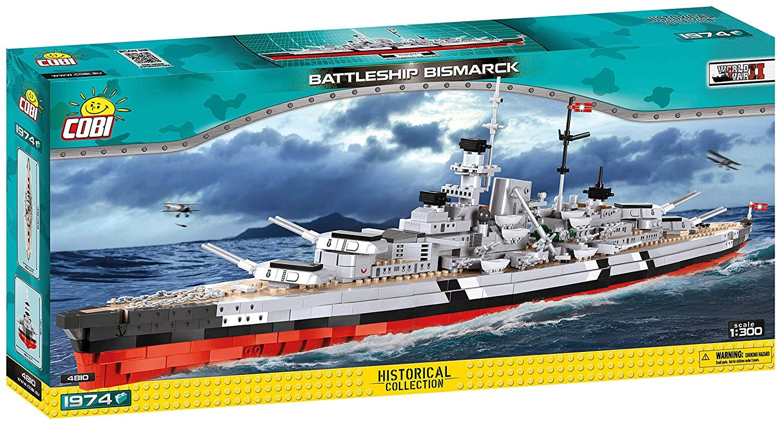 Cobi Historical Collection Bismark Battleship