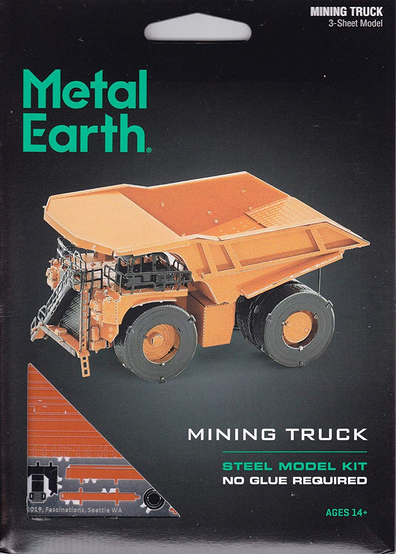 Metal Earth Construction Mining Truck