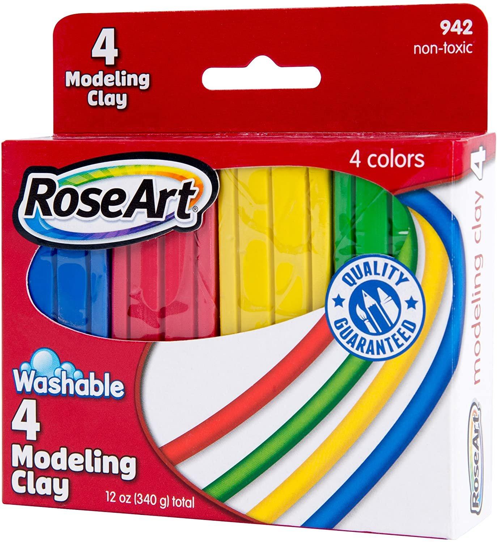 Rose Art Washable 4 Modeling Clay