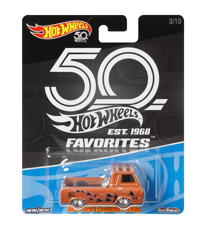 50th Anniversary Hot Wheels